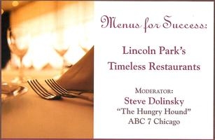 Menus for Success: Lincoln Park's Timeless Restaurants