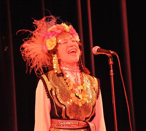 Bulgarian singer Tatiana Sarbinska