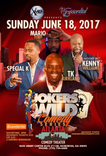 Jokers Wild Comedy Flyer