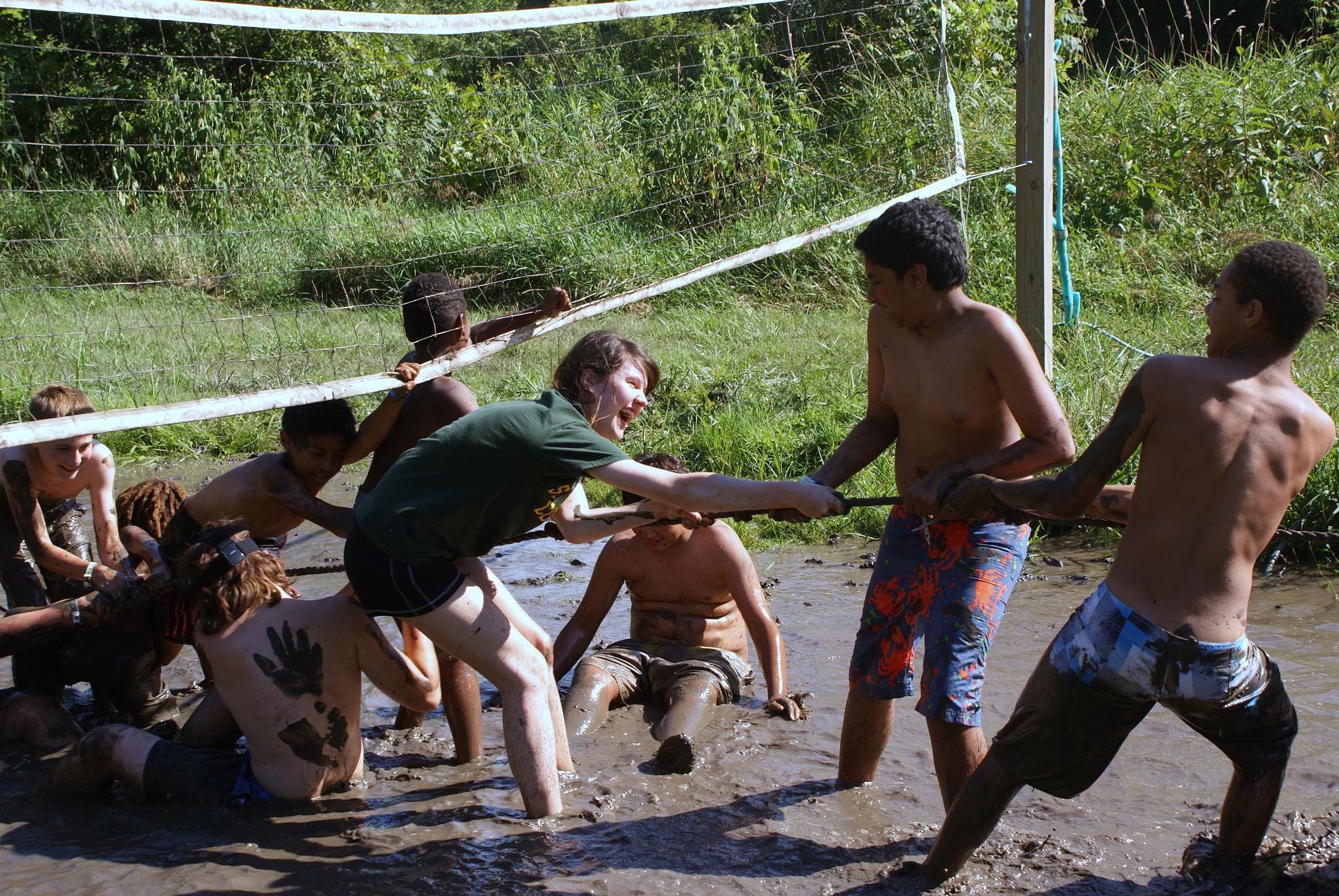 Boys having fun at Camp Kupugani