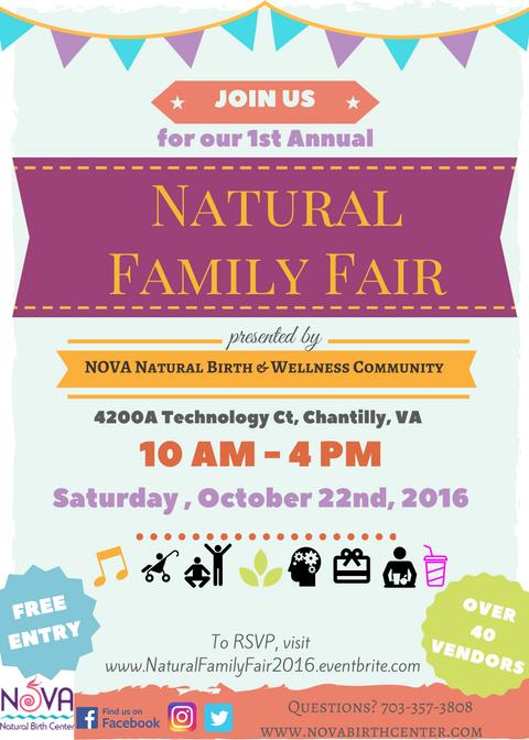 2016 Annual Natural Family Fair