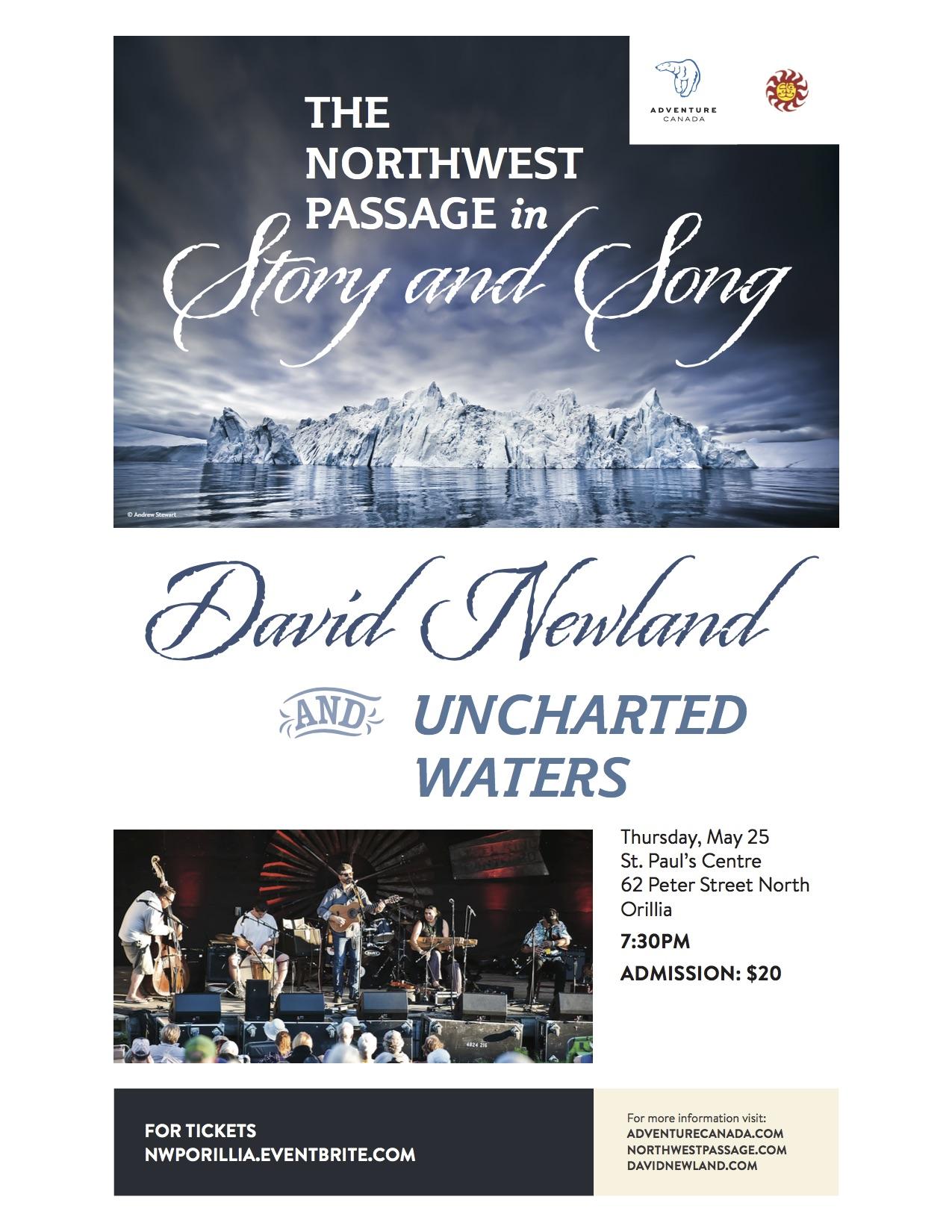 David Newland & Uncharted Waters