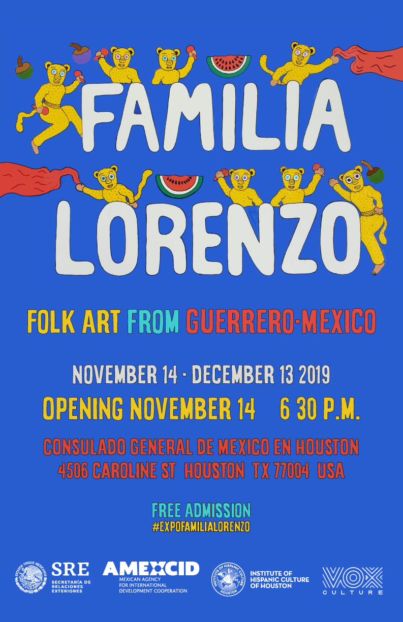 Familia Loreno Folk Art form Guerrero, Mexico