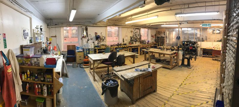 Picture of the Main Workshop