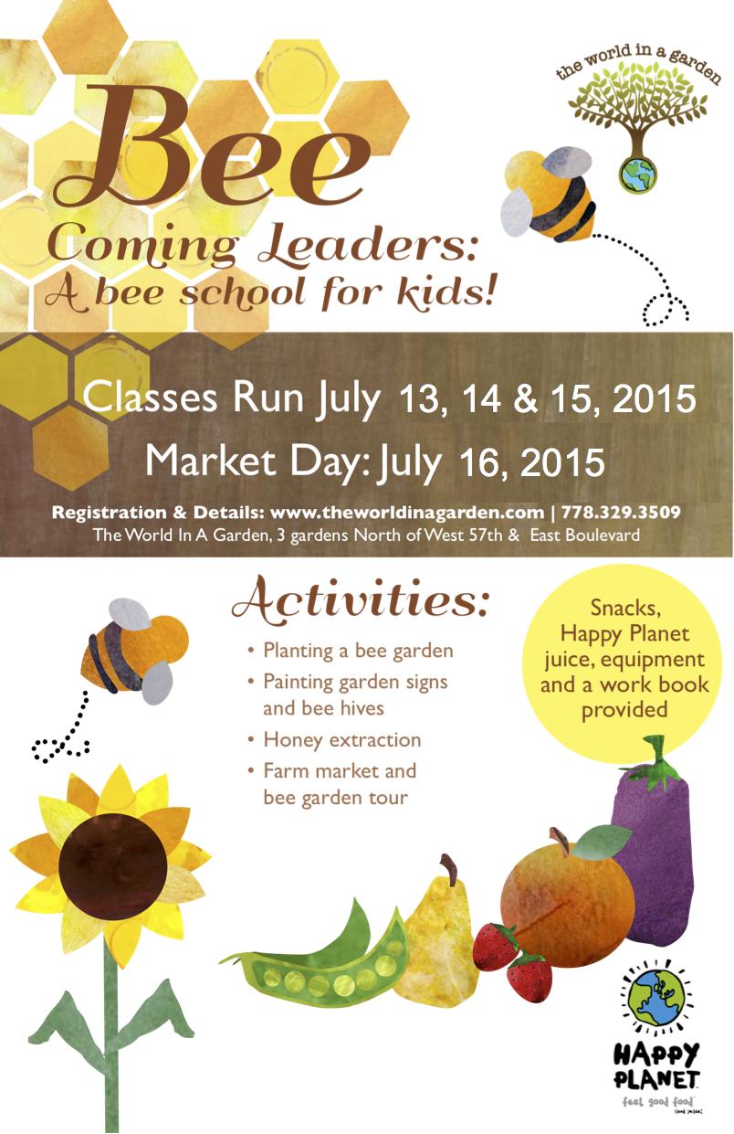 Bee School Poster