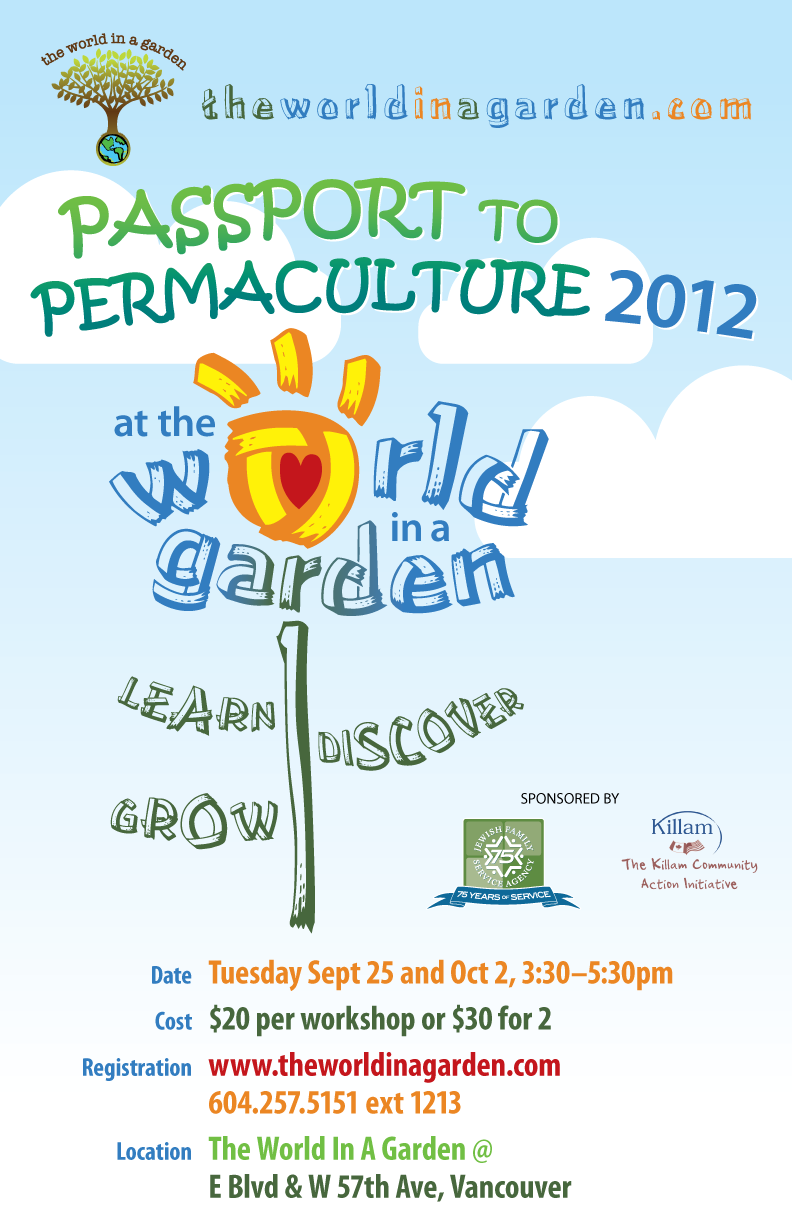 Passport to Permaculture Fall Workshops