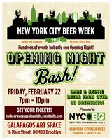 NYC Beer Week Opening Night