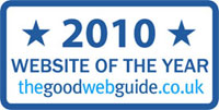Good Web Guide Website of the Year Award 2010
