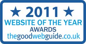 Good Web Guide Website of the Year Awards 2011