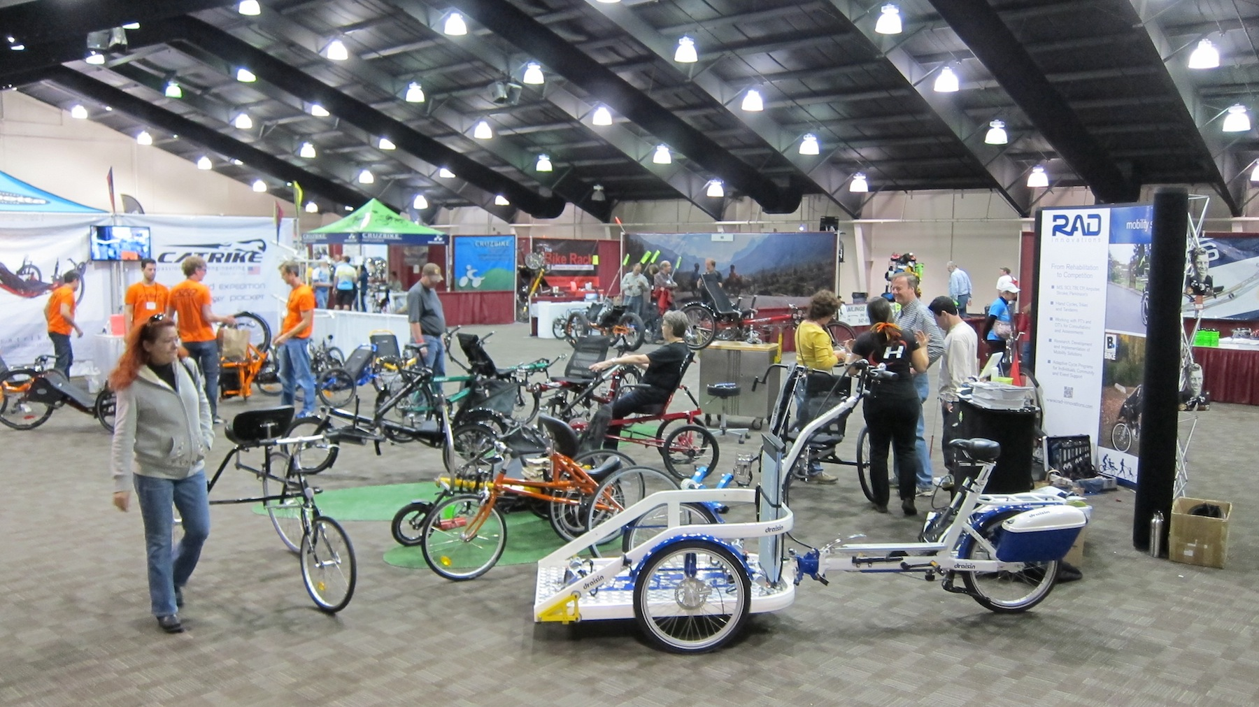 Recumbent Cycle-Con Trade Show & Convention Tickets, Sat ...