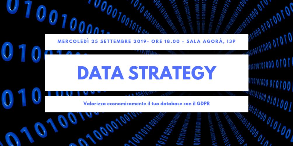 Data Strategy - valorizza economicamente il tuo database con il GDPR