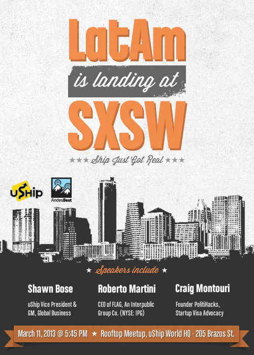 Latin America is landing at SXSW 2013