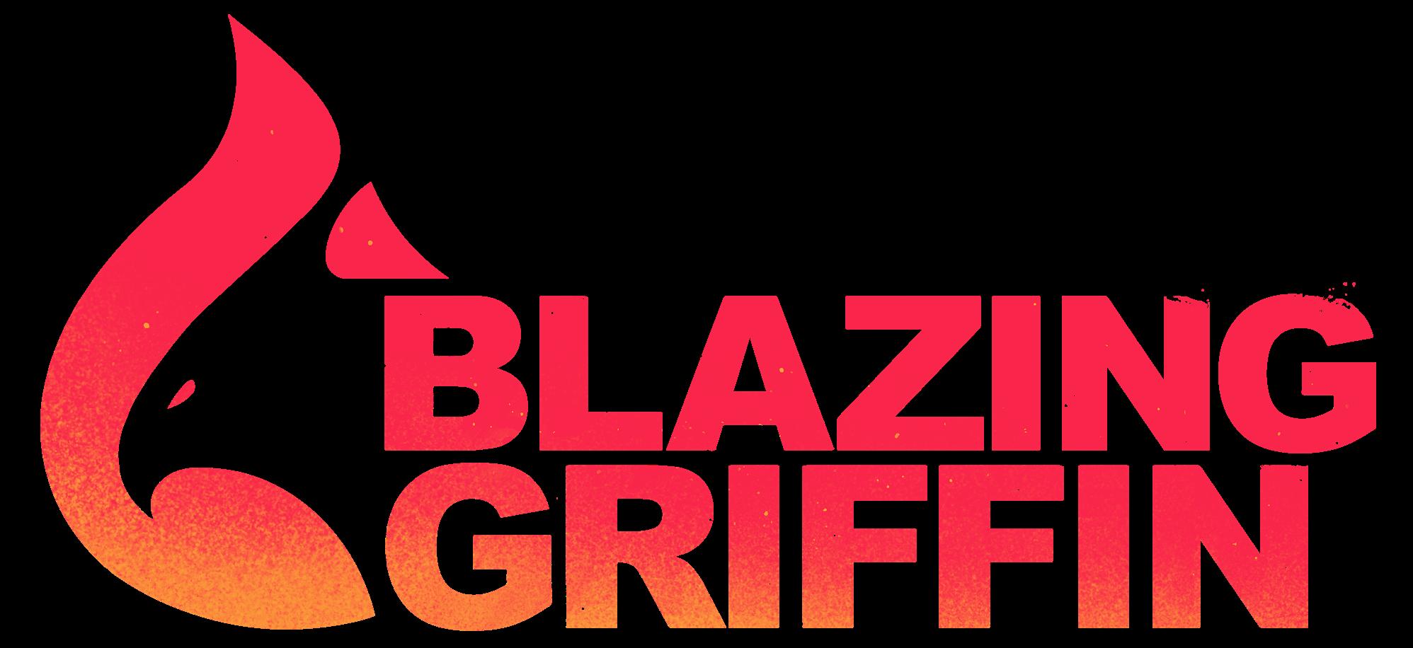 Blazing Griffin logo