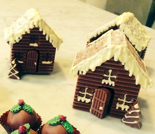 Chocolate Christmas Cottage