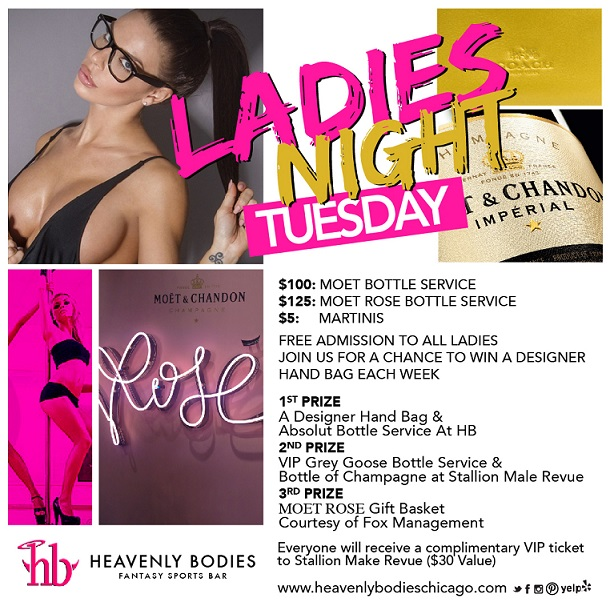 Heavenly Bodies Ladies Night