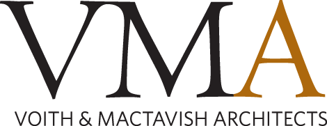 Voith and Mactavish Architects logo