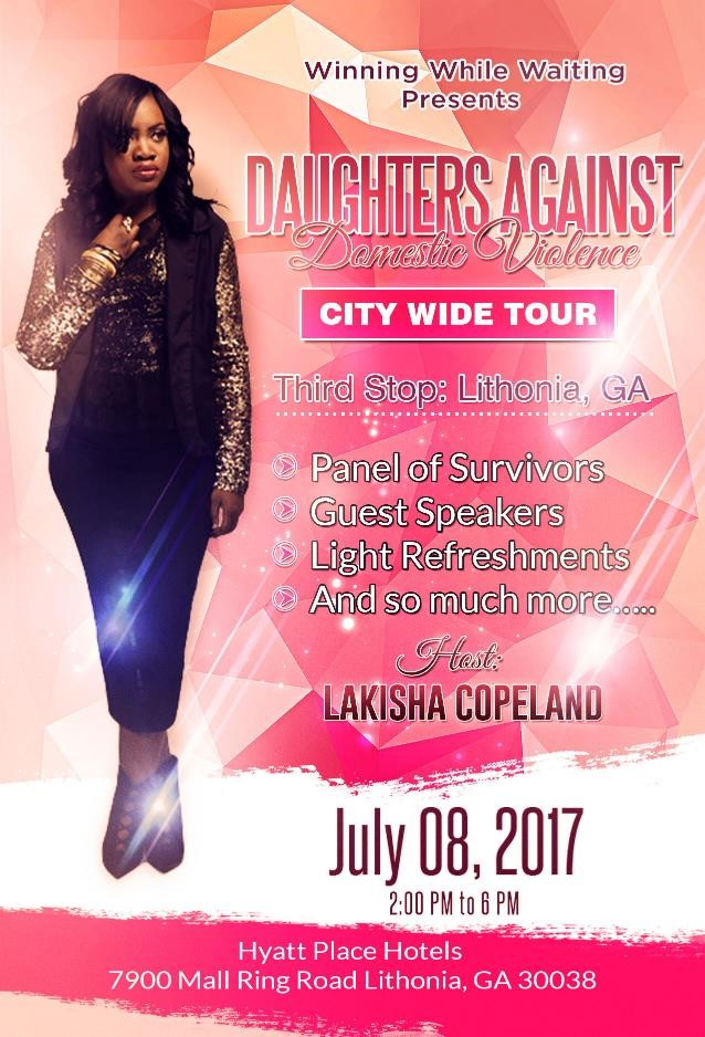 Daughters Against Domestic Violence Event- Lithonia, GA