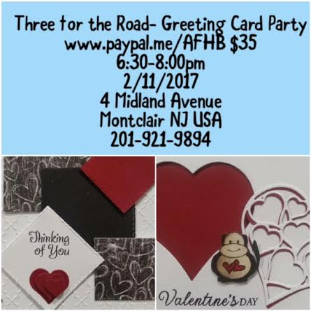 Greeting Card Making Party