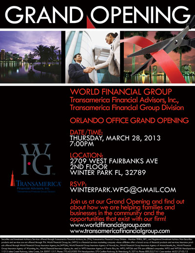WFG Grand Opening