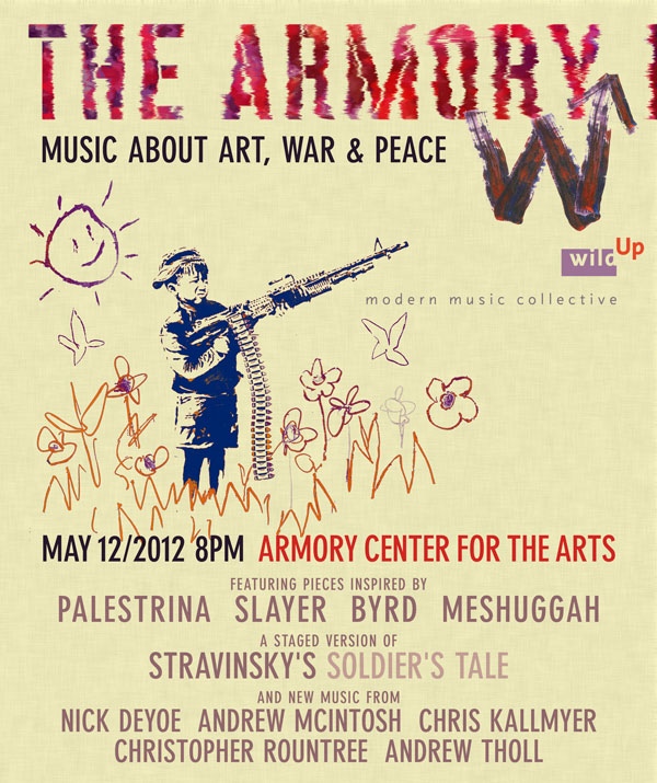 wild Up at The Armory in Pasadena. May 12, 2012 8 pm