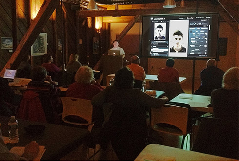 Andrew Darlow conducting a Lightroom workshop in Princeton, NJ