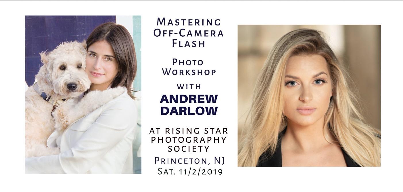 Mastering Off-Camera Flash Workshop at Rising Star Photography