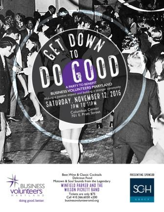 Get Down to Do Good Event Details