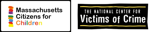 Logos for MassKids and the National Center for Victims of Crime
