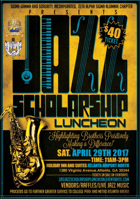Jazz Luncheon Flyer