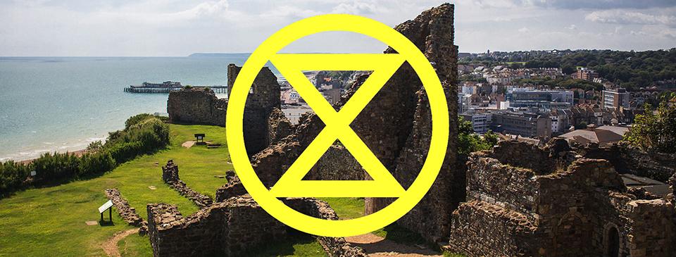 xr extinction rebellion Hastings st leonards