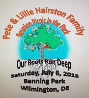 The 2013 Pete and Lillie Hairston Family Reunion/Picnic -...