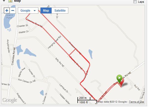 4mi bike course