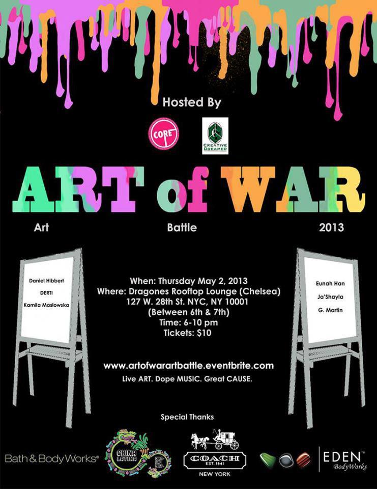 Art of War Flyer
