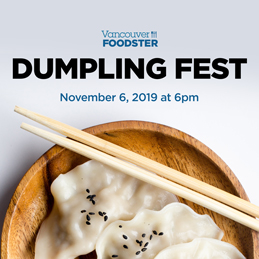 Dumpling Fest Vancouver on November 6