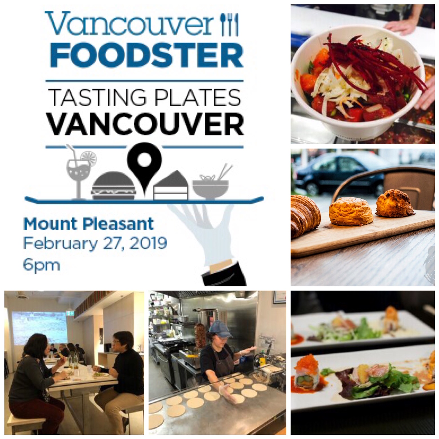 Calendar of Events – February 2019 – Vancouver Bits and Bites