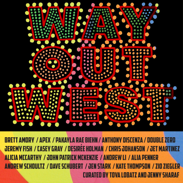 Way Out West artist flier