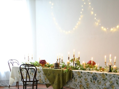 Image of supper table