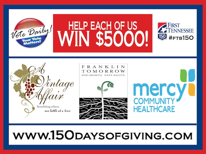 150 Days of Giving