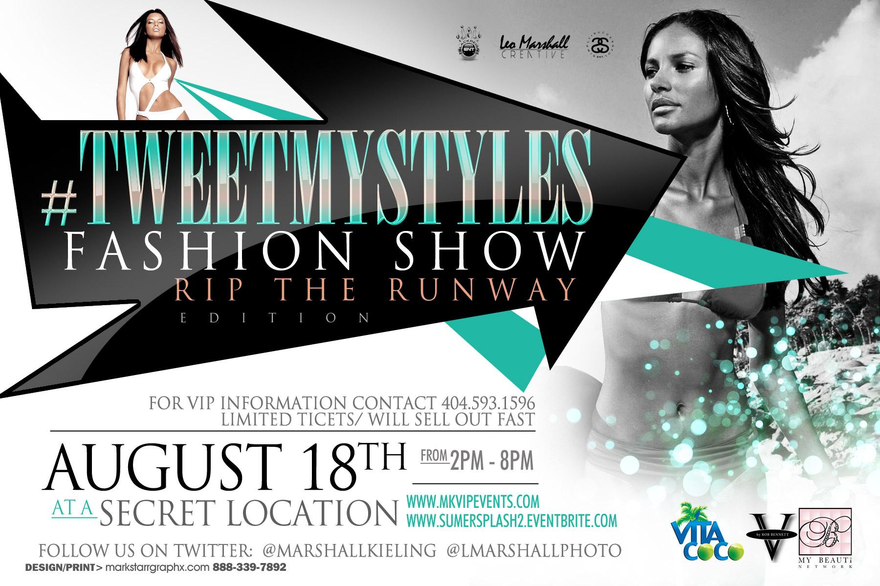 TweetMyStyles Fashion Show Rip the Runway Edition/Summer Splash ...