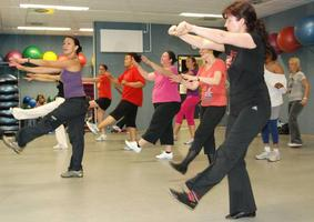 Zumba fitness dance exercise classes with Jayne
