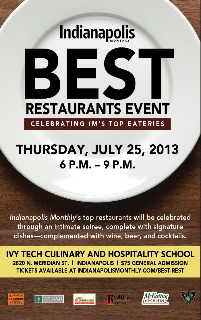 Indianapolis Monthly Best Restaurants event