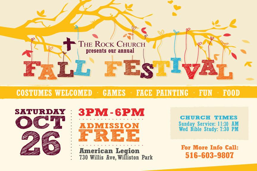 Fall Festival - Oct 27th @ 3pm