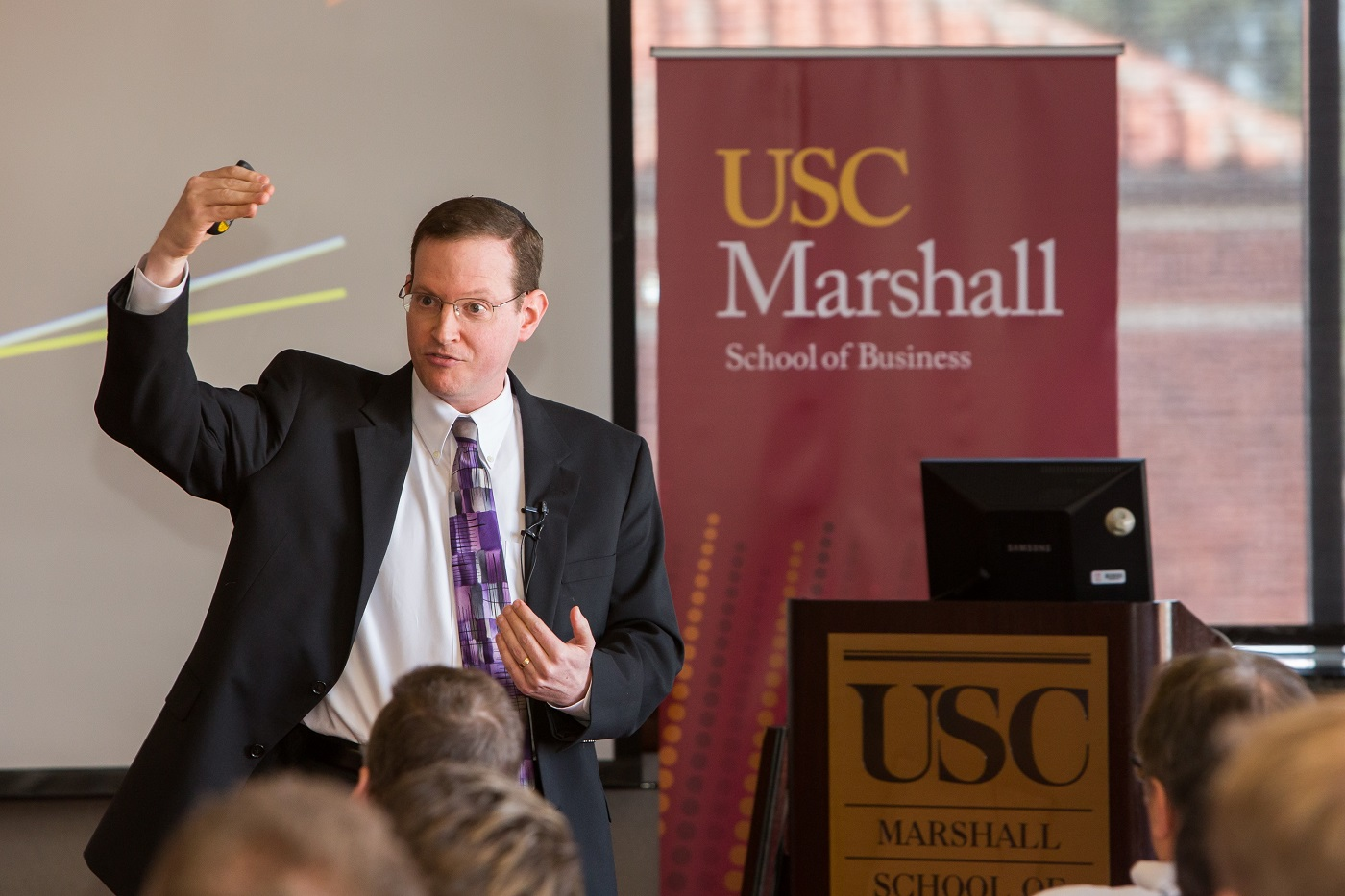 Noam Wasserman Photo from USC Marshall School of Business Website at https://www.marshall.usc.edu/news/founder-central
