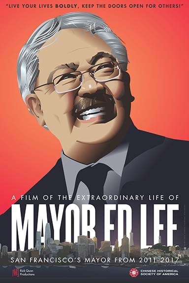 Mayor Ed Lee poster. Design: Studio Hinrichs. Illustrator: John Mattos