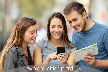 townadventure - explore cities playfully