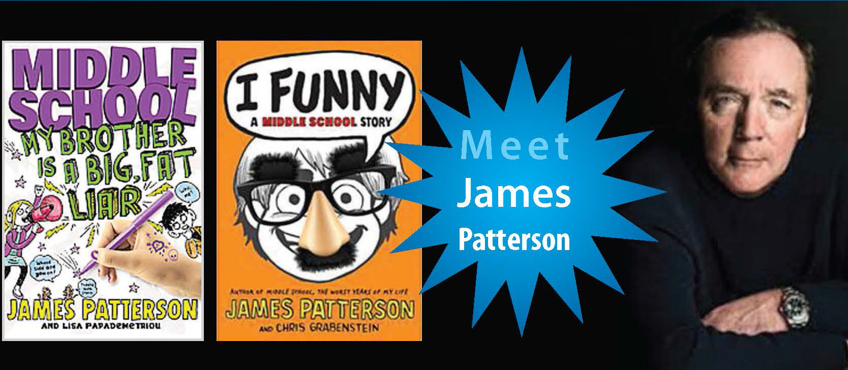 Meet James Patterson at the NAESP Foundation Jeans & Jerseys fundraiser