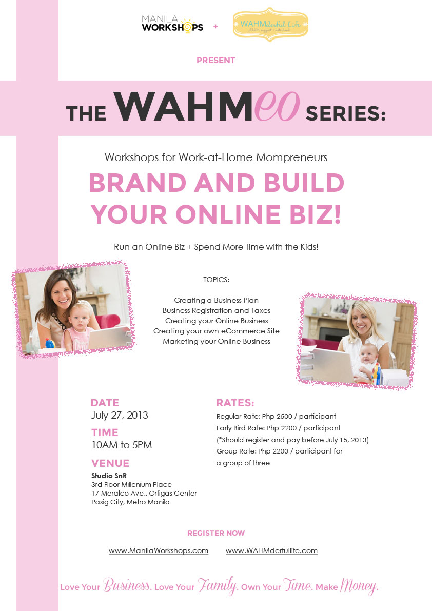 WAHMeo: Brand and Build Your Online Biz!