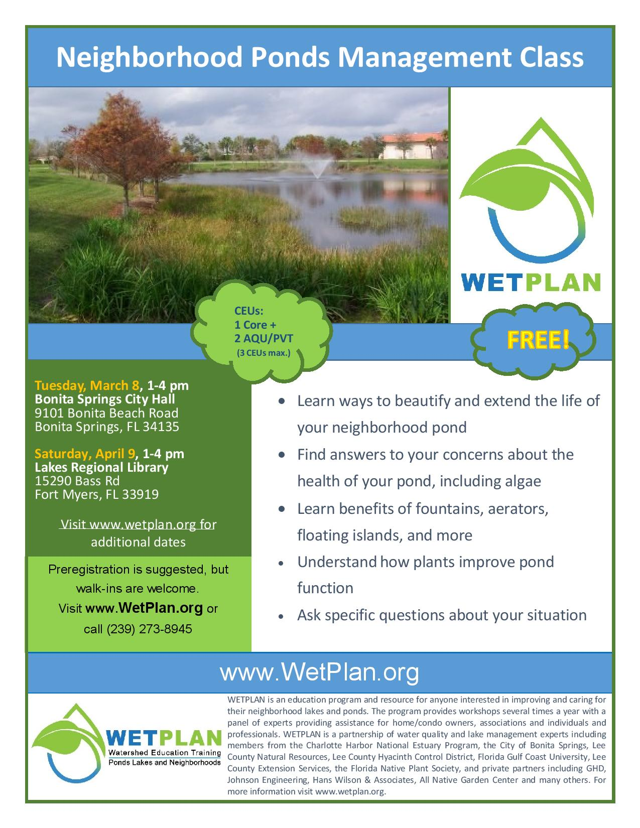 Wetplan Mar-Apr