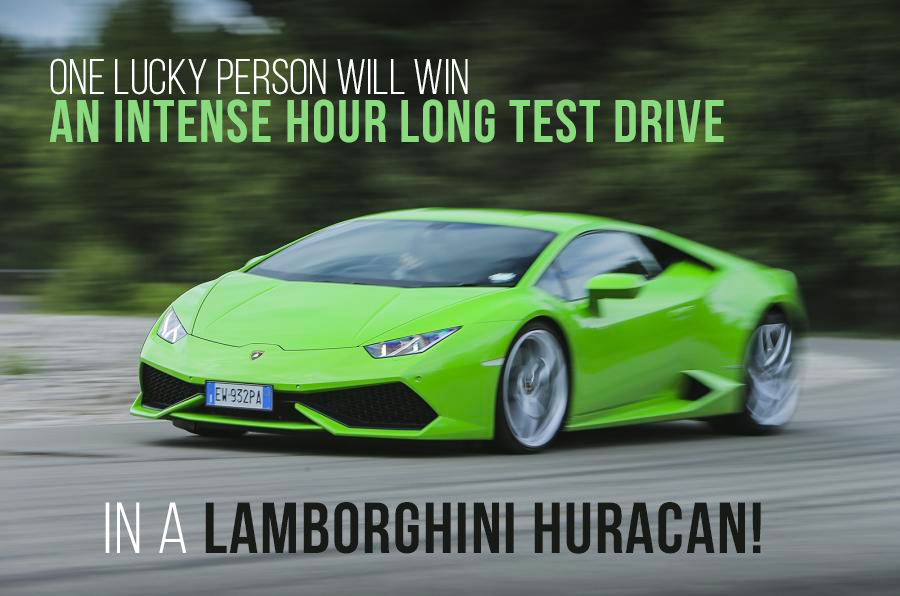 Drive a Lamborghini Huracan!