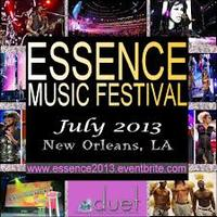 ESSENCE MUSIC FESTIVAL 2013  Friday, 5, 2013 - Monday, July...